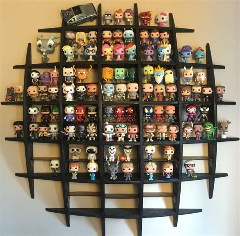 Figure Shelf Displays by Funko Pop Collection And Funko Pop