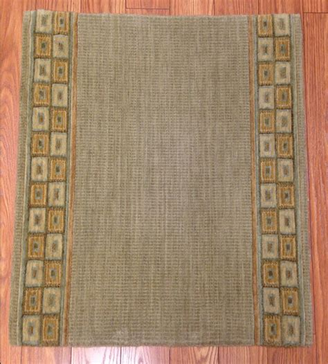 rug runner wool pattern carpet stair runner contemporary