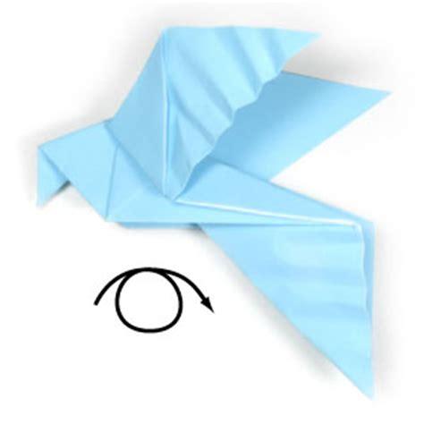 Dove Origami - origami frog lesson