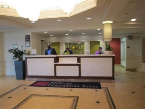 front desk picture of garden inn boston waltham