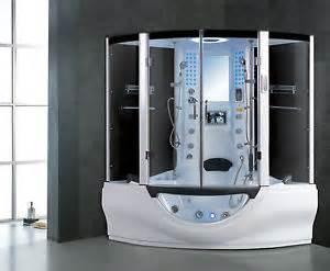 Spa Bath Shower Steam Room Jacuzzi Spa Whirlpool Pod Bath Shower Tv Mp3 Ebay