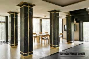 Interior Design Ideas Incorporating Columns Into Spacious Room Design » Home Design