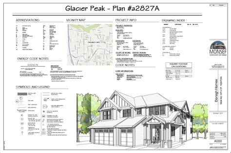 monsef donogh design groupglacier peak sheet a000
