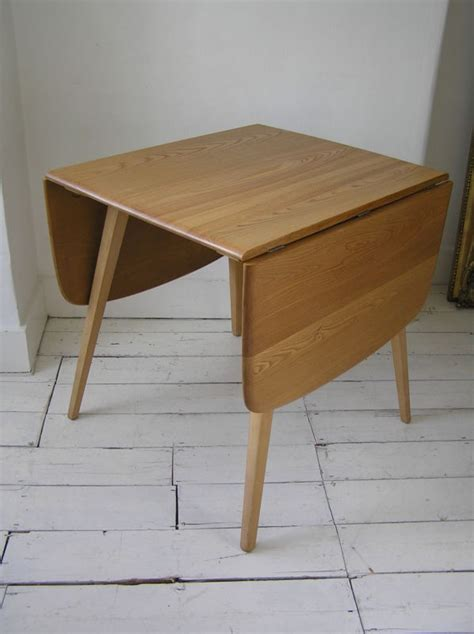original ercol vintage retro elm drop leaf dining kitchen