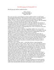Ged Essays Exles by Free Ged Essays