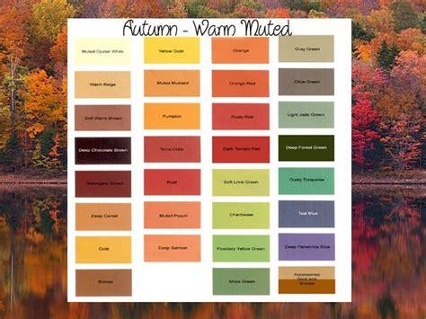warm autumn color palette 50 best autumn color awesomesauce images on pinterest