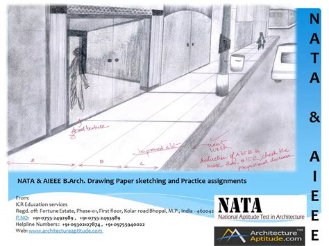B Arch Sketches by Nata Drawing Questions And Nata Drawing Sles Avail