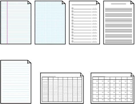 canon printer templates canon knowledge base printing template forms mx340