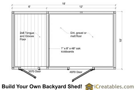 Small Horse Barn Floor Plans by 10x18 Small Horse Barn Plans Single Stall Horse Barn Plans