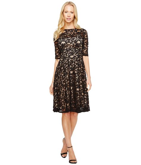papell 3 4 sleeve all lace dress at zappos