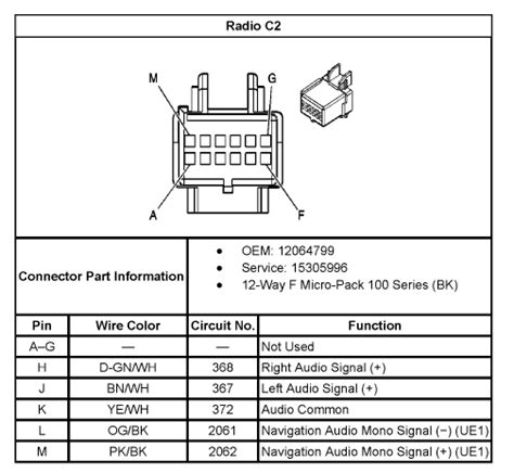 wiring diagram for 2010 chevy silverado radio