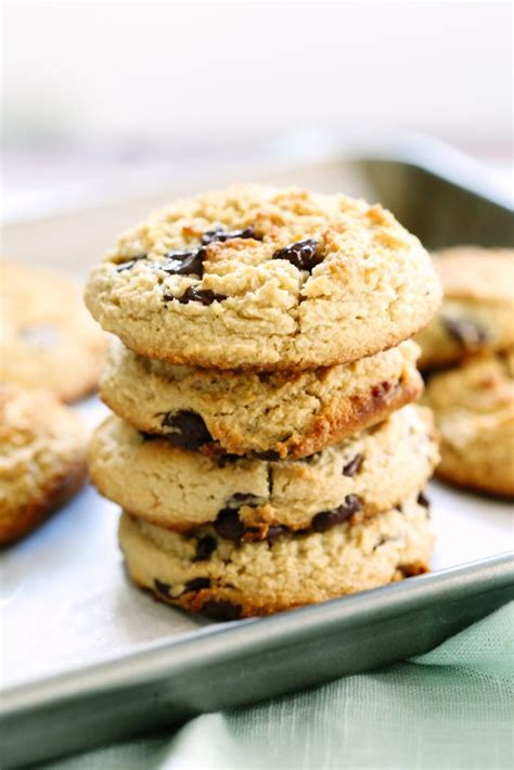 Almond Chocochip Cookies 1 one bowl quot miracle quot almond flour chocolate chip cookies live simply