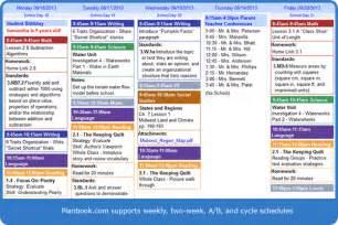 planbook com online teacher lesson planning