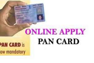 pan card apply process