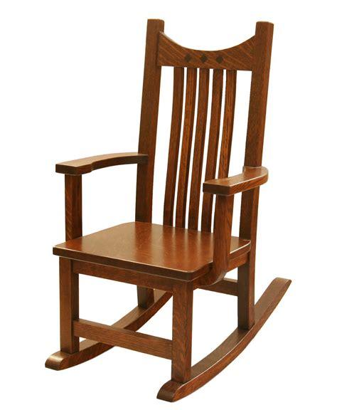 childs recliner rocker child s royal mission rocker amish direct furniture