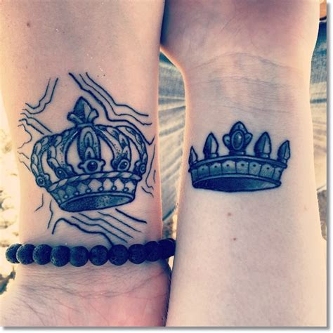 couple crown tattoos 83 small crown tattoos ideas you cannot miss