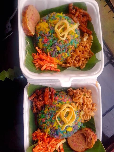 rumah kue salwa nasi tumpeng rainbow hilwa