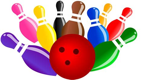 bowling clipart bowling clipart colorful pencil and in color bowling