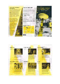 leaflet design glasgow 1000 images about film festival on pinterest film