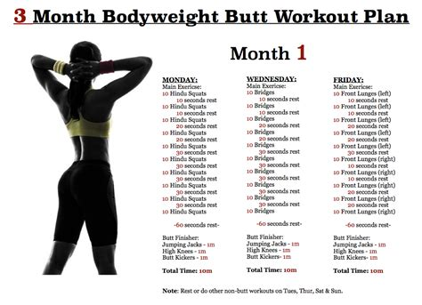 the 3 month workout plan