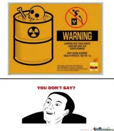 Fun Bathroom Signs You Don T Say By Kii Meme Center