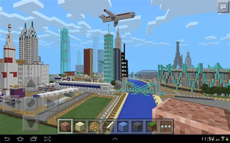 minecraft pe map minecraft pe city the city in pocket