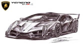 How To Draw A Lamborghini Veneno Step By Step Lamborghini Veneno Lp750 4 Ultimate By Toyonda On