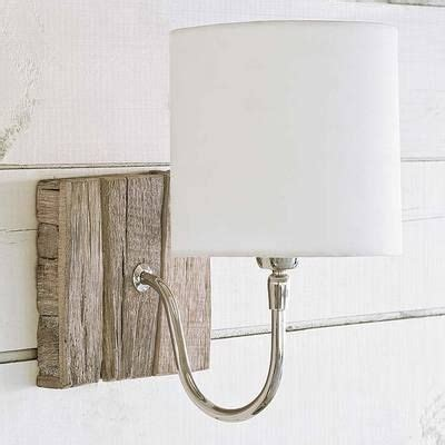 Driftwood Wall Sconce Driftwood Bent Arm Wall Sconce L Mainship Our