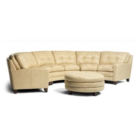 curved leather sectional the incredible effect of a curved leather sofa upon your