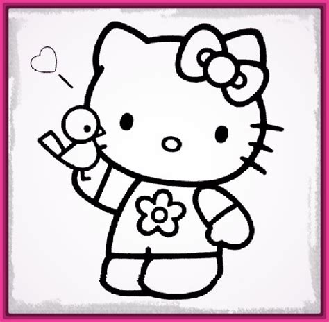 imagenes de hello kitty vestida de tigres dibujos de kitty para pintar y divertirse imagenes de