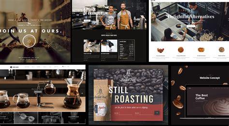 best coffee shop websites 20 most inspirational coffee websites muzli