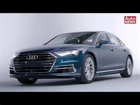 Audi A8 Neu by Das Ist Der Neue Audi A8 Exklusive Pr 228 Sentation Youtube