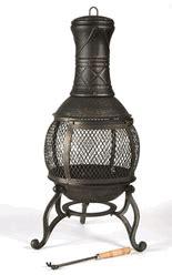 yukon chiminea cast iron chimineas