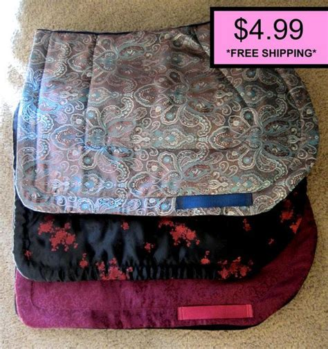 pattern english saddle pads quilted all purpose english saddle pad sewing pattern