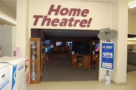 in store theater makes customers feel at home hardware