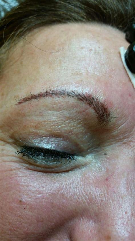 tattoo liner stroke brow stroke permanent cosmetics salonchic tattoo