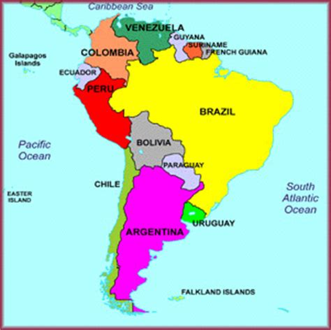 south america map labeled mapa am 233 rica sur mapa am 233 rica do sul south america m