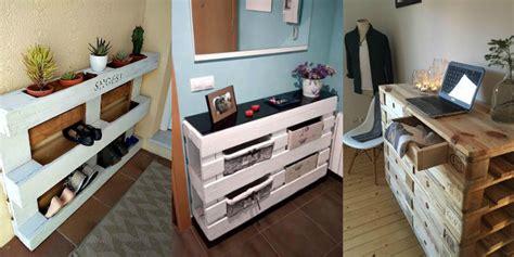mobili con pedane di legno arredare con i bancali mobili divano letto e altre idee