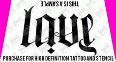 tattoo fonts reversible rock n roll ambigram lettering http upsidedownography