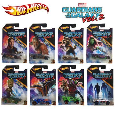 Hotwheels Guardians Of The Galaxy Vol 2 guardians of the galaxy vol 2 set 8 models car scale 1 64 mattel wheels die cast marvel
