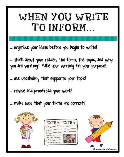 informative poster template 1000 images about writing informational on