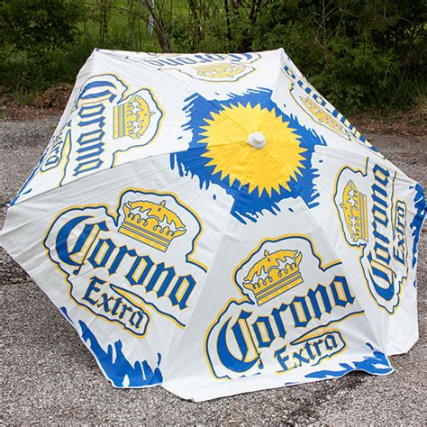 Corona Extra Heavy Duty Vinyl Patio Table Beach Umbrella