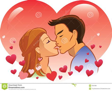 Valentines Kisses by St S Day Royalty Free Stock Photos Image