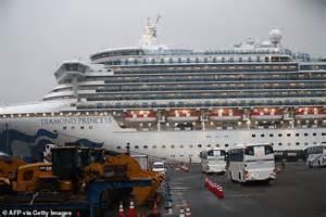 quarantined cruise ship  hit    coronavirus