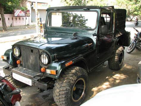 mahindra jeep india model 2 used mahindra jeep car 2004 model for sale droom