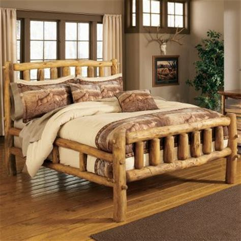 25 best ideas about log bed frame on log bed