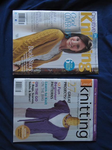 Knitting Giveaway - magazine giveaway love of knitting and creative knitting the lindsey life
