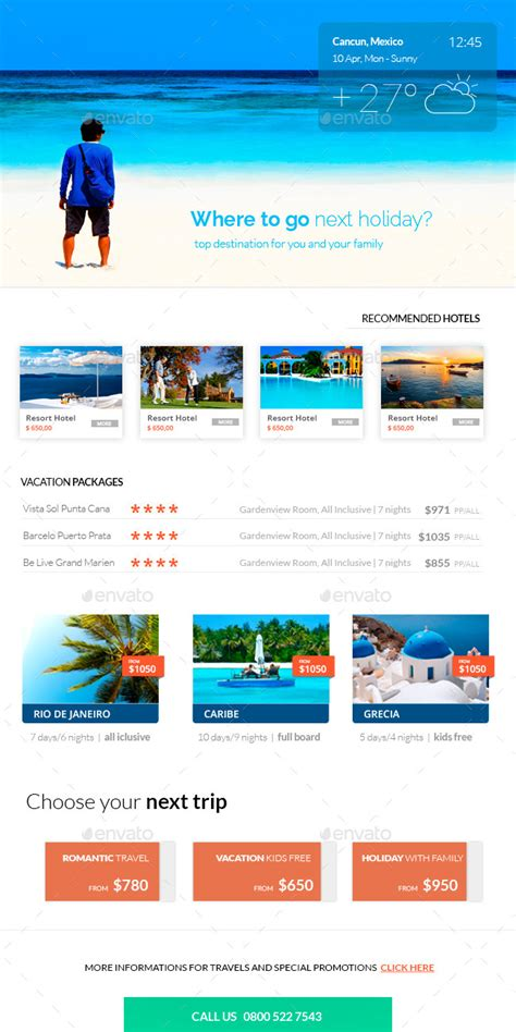 travel email templates travel e newsletter template by karine design graphicriver