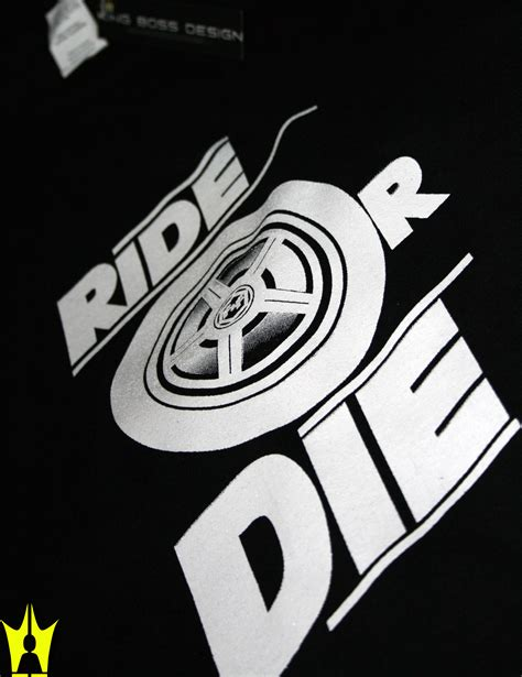 inspired by the fast and the furious ride or die t shirt