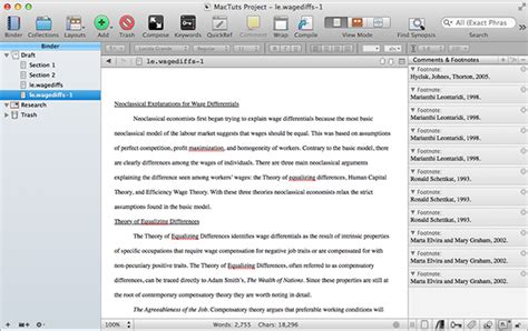 format footnotes in word mac getting started with scrivener